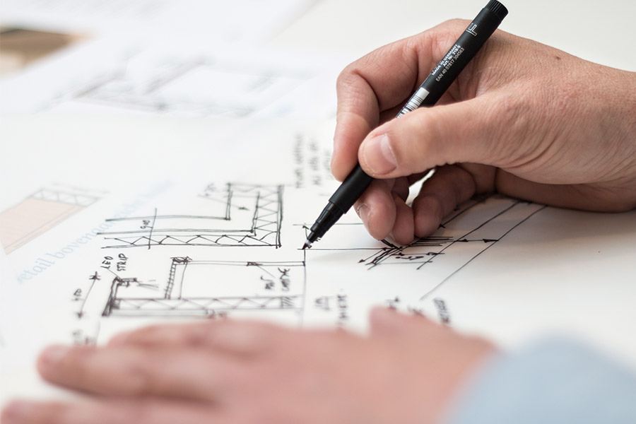 Designing a residential construction project