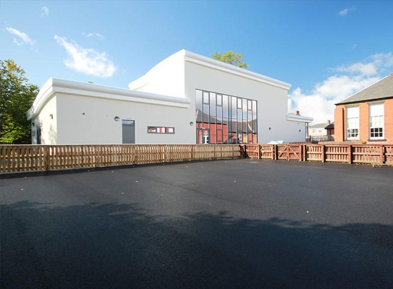 Commercial property refurbishment