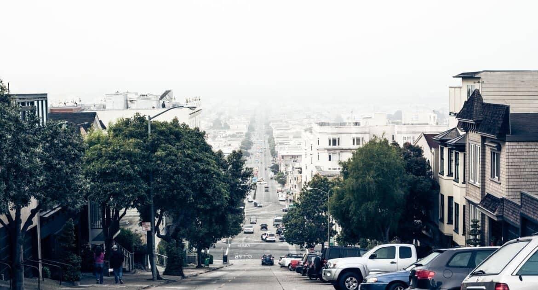 Sloped street