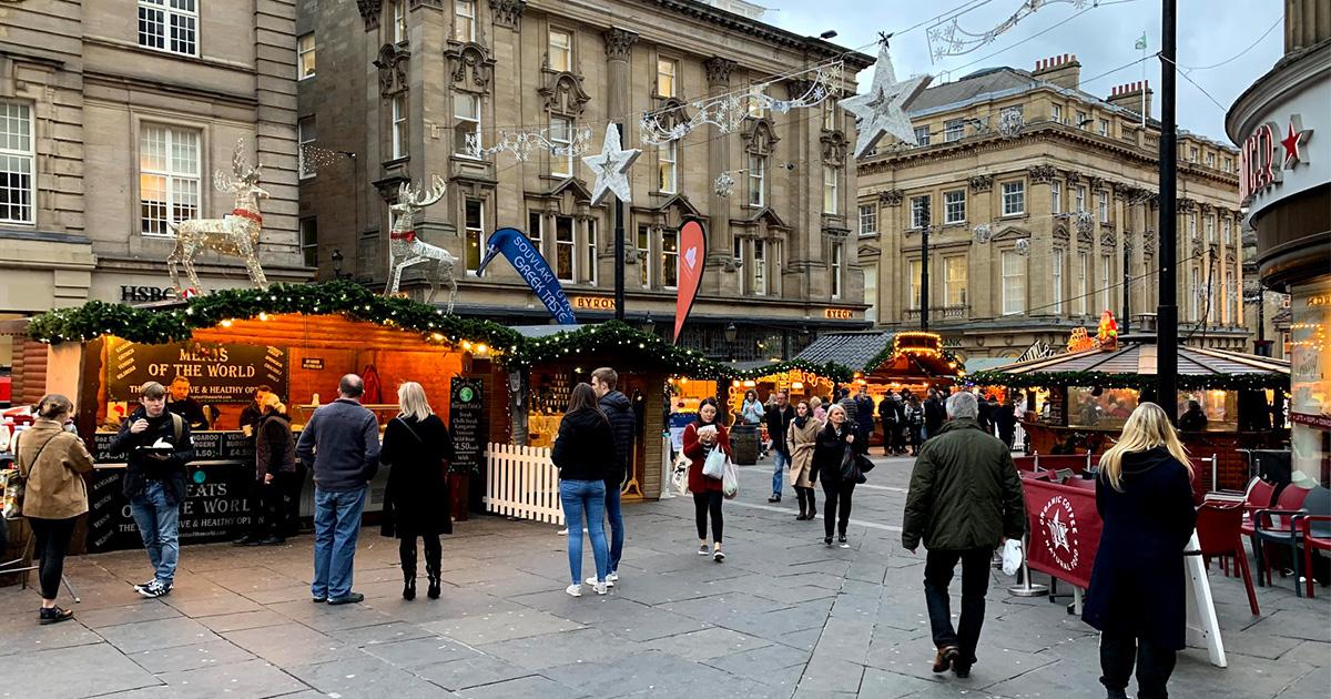 Grey Street Christmas market