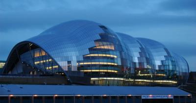 Construction of Sage Gateshead