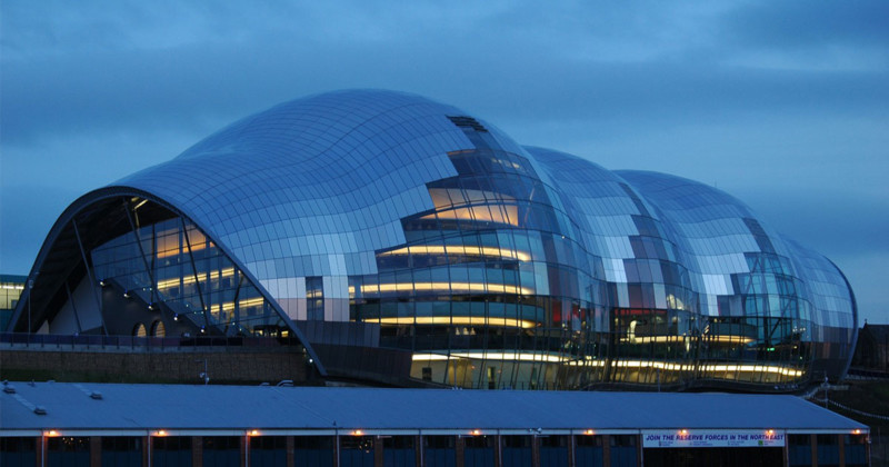 Construction of Sage Gateshead