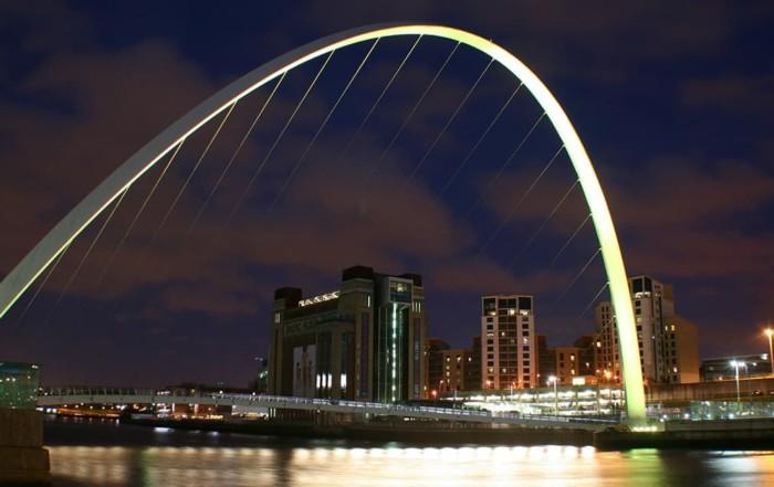 Millennium Bridge Newcastle Gateshead
