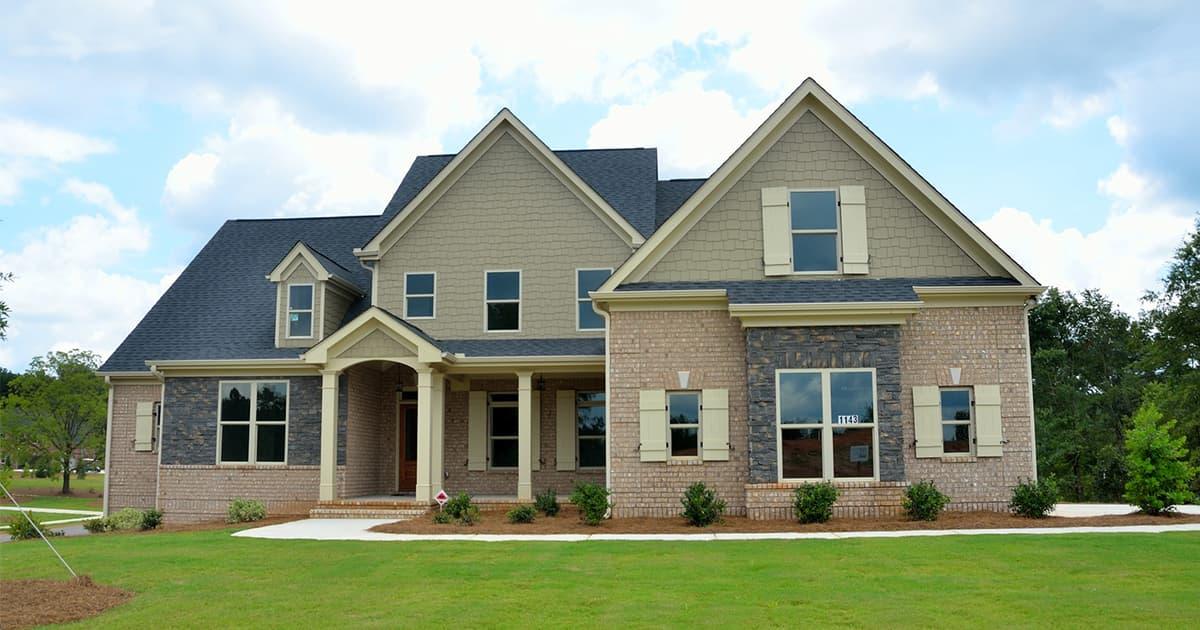 New build house price